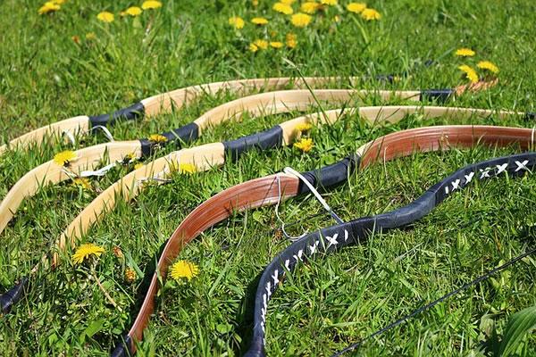 Green Archery Netting - Sports-Nets Ltd