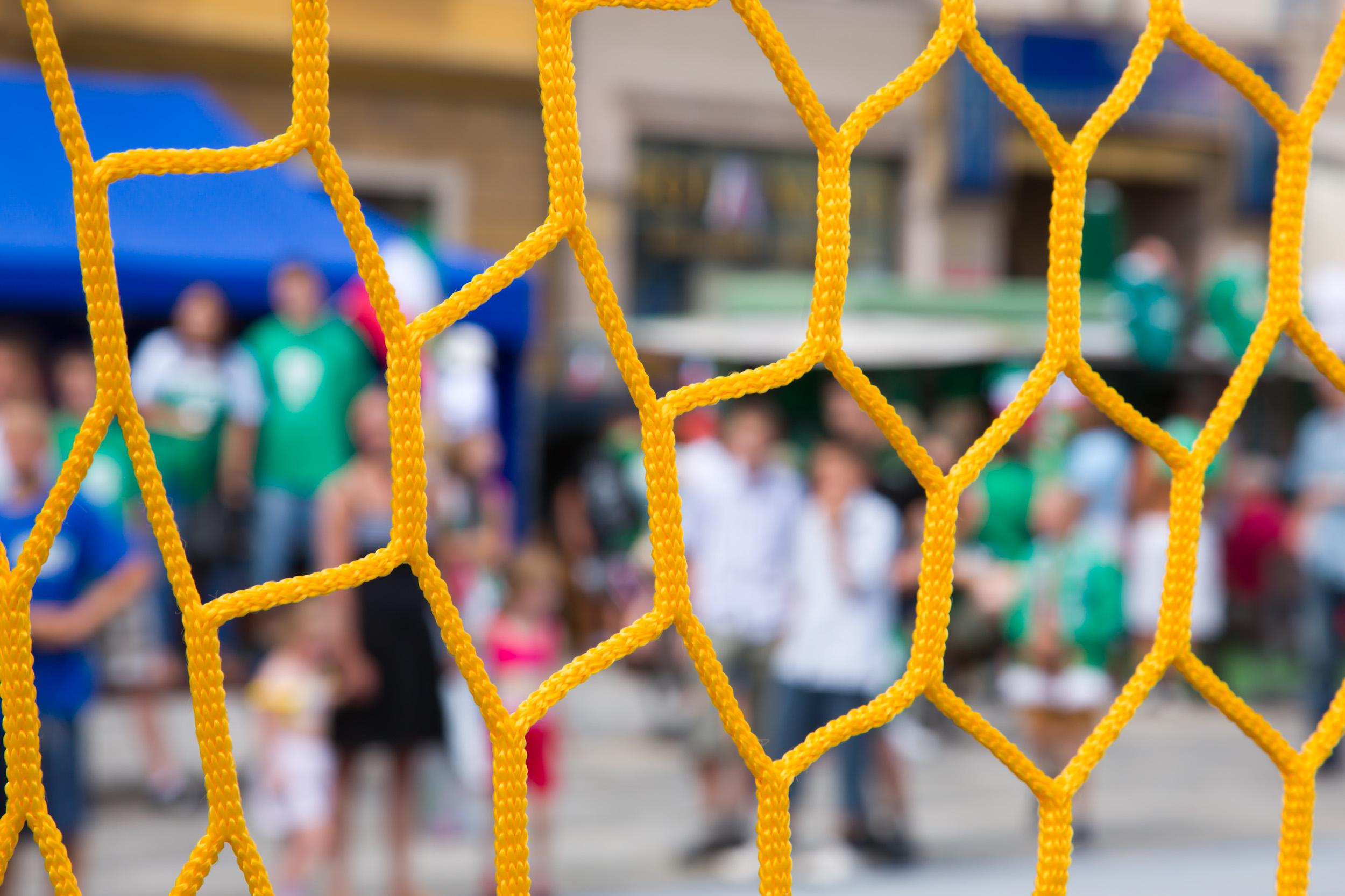 Football Stadium Netting - Sports-Nets Ltd