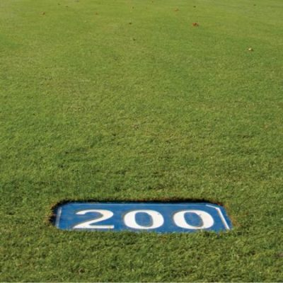 Flat Markers Numbered